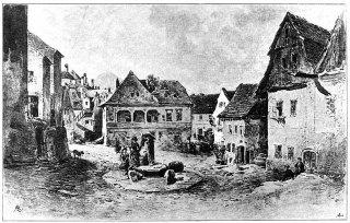Studniční náměstí obraz